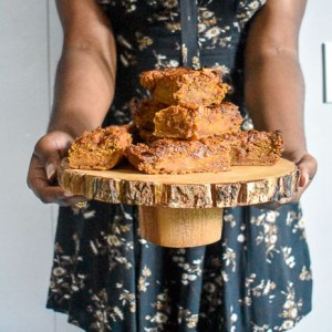 Fall Home Finds + Salted Caramel Sweet Potato Blondies Recipe