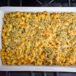 Brown Butter Roasted Garlic Mac & Cheese