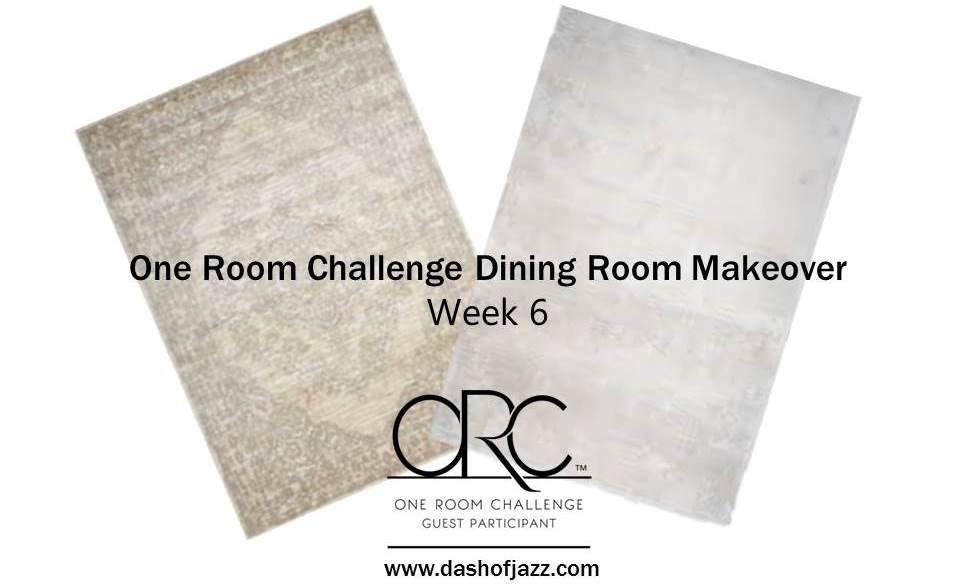 A Tale of Two Rugs (One Room Challenge Week 6)