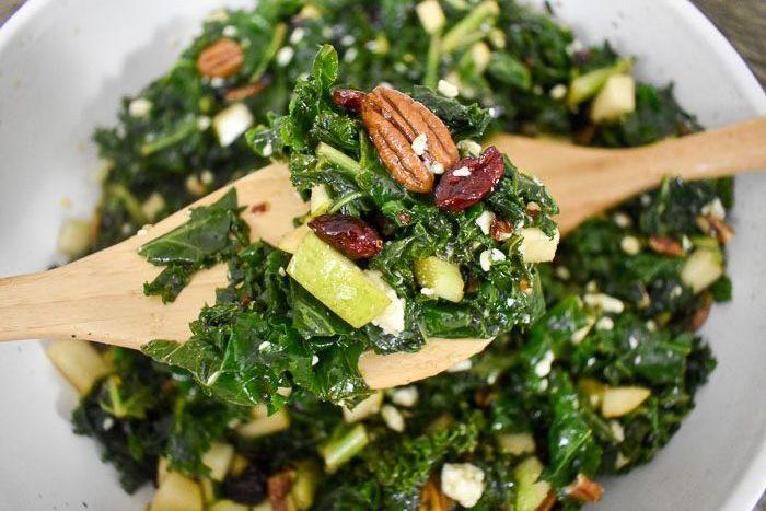 Addictive Massaged Kale Salad