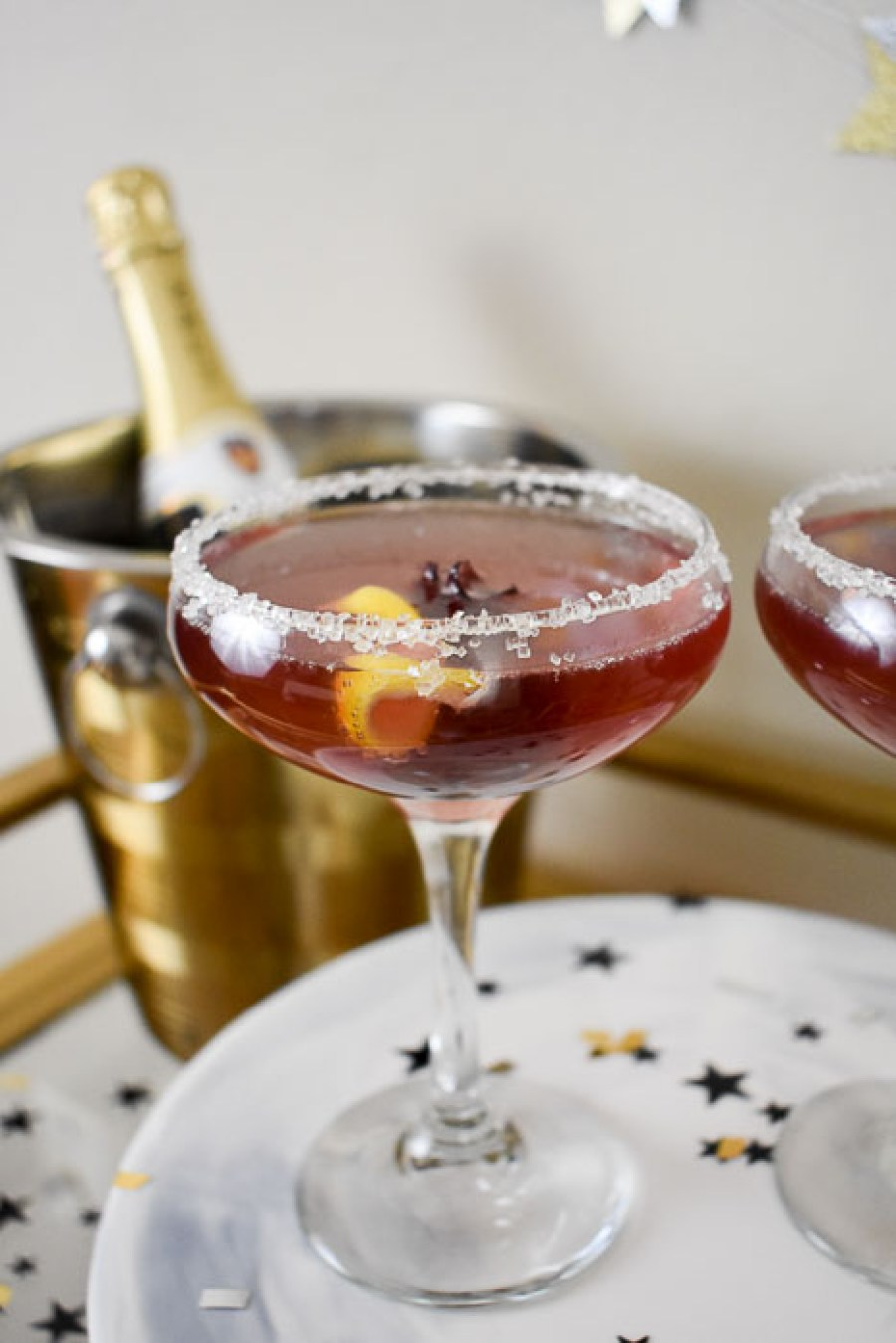 Hibiscus french 75 cocktail 3 ways to elevate a glass of champagne save izmirmasajfo