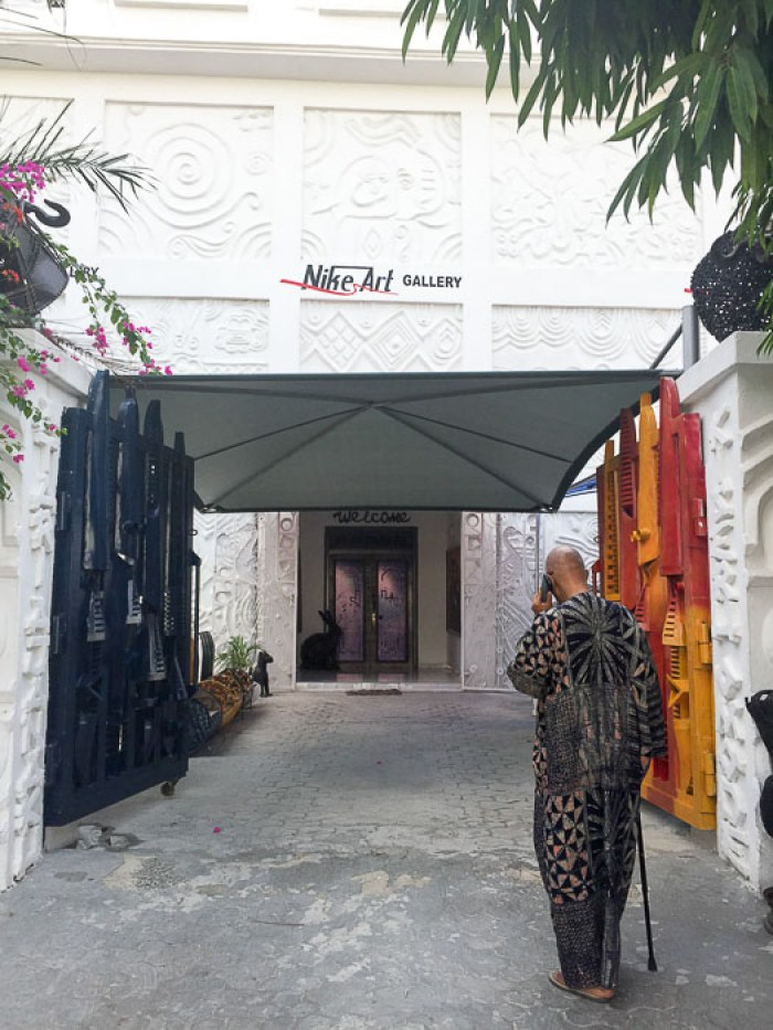 entrance to Nike Art gallery in Lekki, Lagos, Nigeria