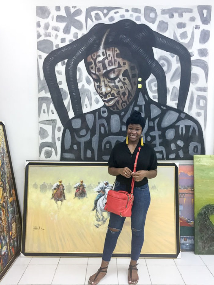 Dash of Jazz inside Nike Art Gallery in Lekki, Lagos, Nigeria