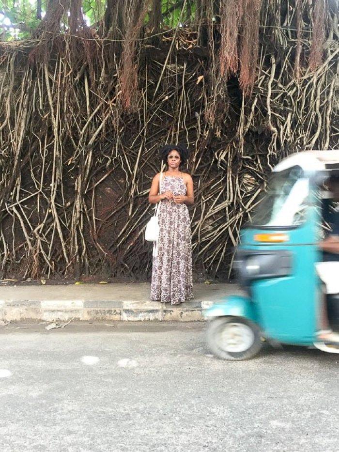 outside Freedom Park, Lagos, Nigeria