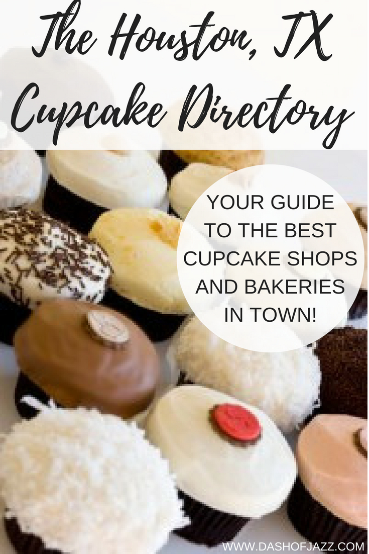This is the first Houston, TX cupcake directory, curated by a native Houstonian foodie with a massive sweet tooth! #houston #foodie #cupcakes #travel