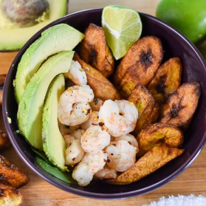 Coconut Lime Shrimp & Plantain Power Bowl