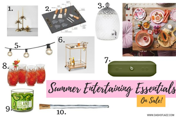 Summer Entertaining Essentials on Sale