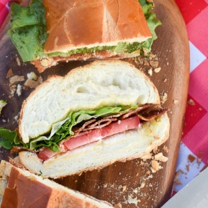How to Build an Epic Shareable BLT Sub Sandwich