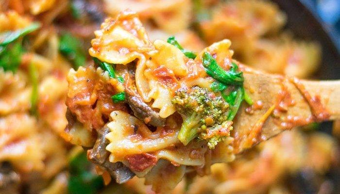 Easy Pasta Skillet Dinner