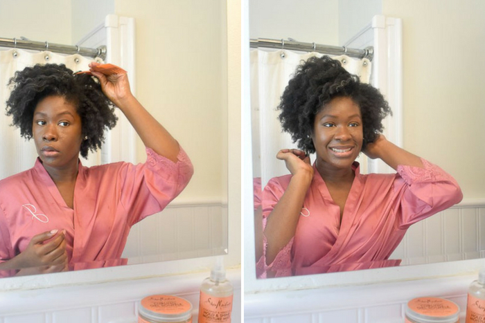 Dash of Jazz fluffing twist out