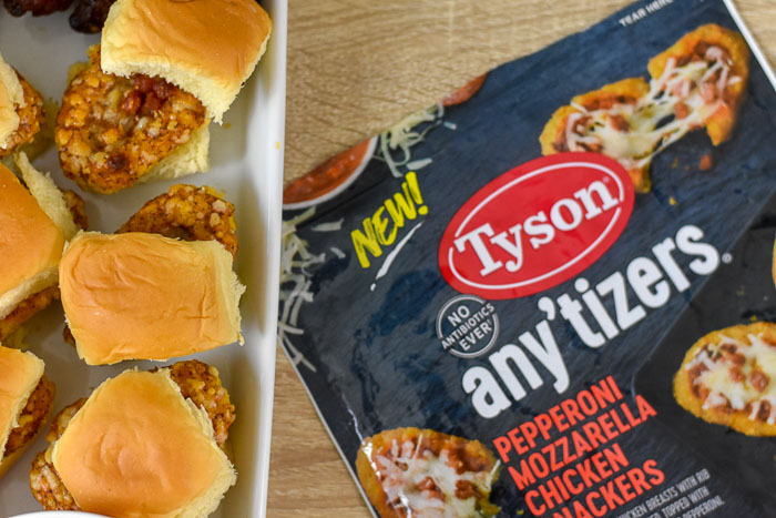 Tyson Any'tizers chicken snackers