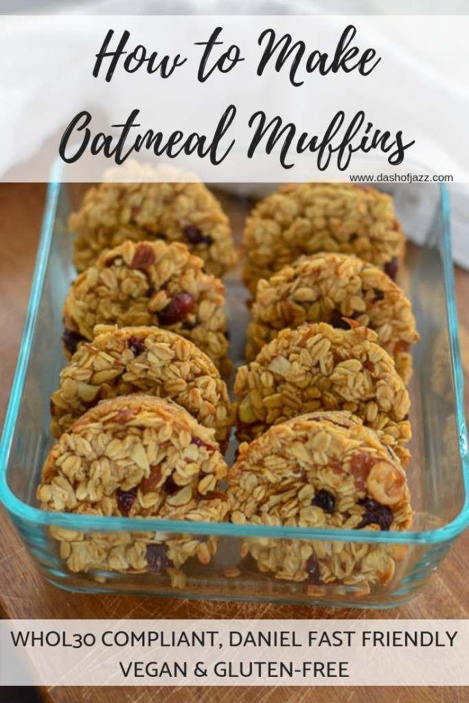 how to make cranberry almond oatmeal muffins