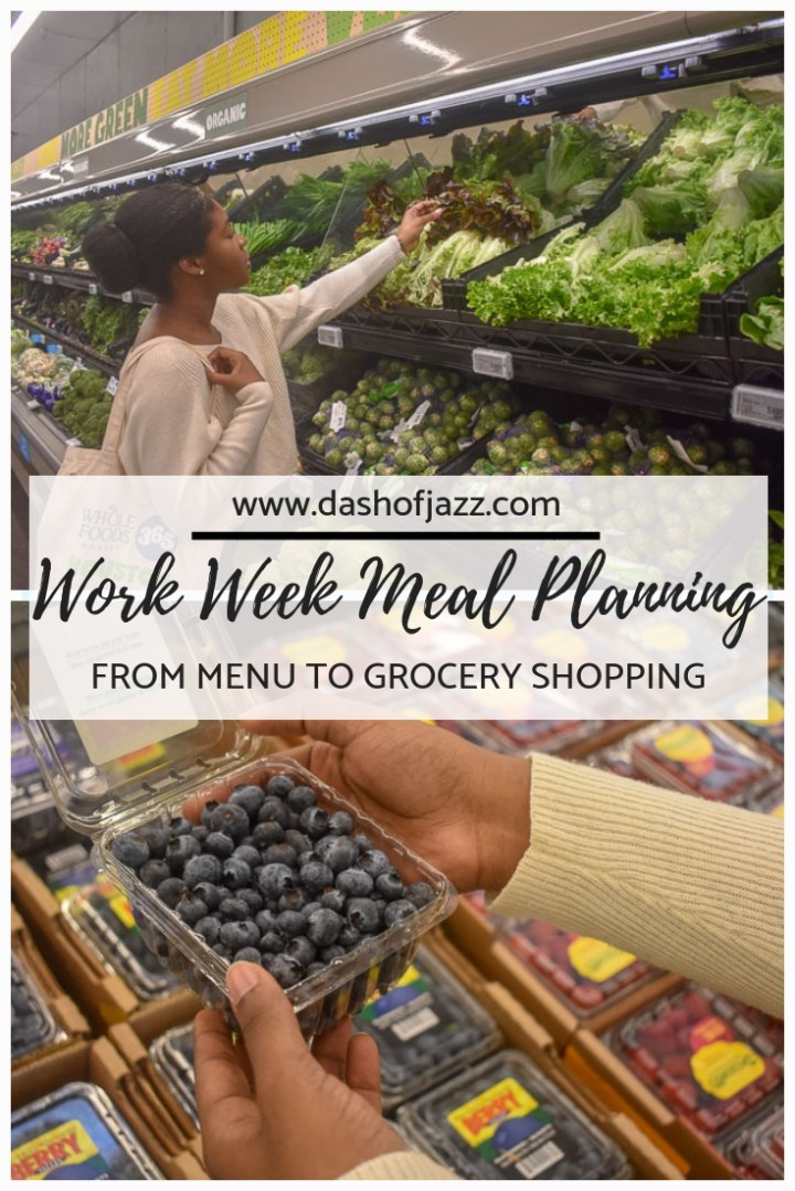 Meal Planning Tips to Get you Through the Work Week