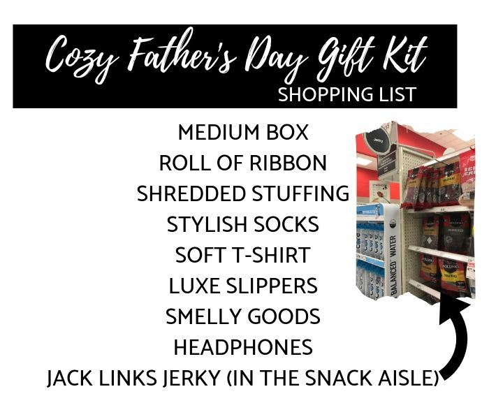 father's day gift kit shopping list at Target