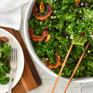 The Ultimate Autumn Salad + Orange Maple Vinaigrette