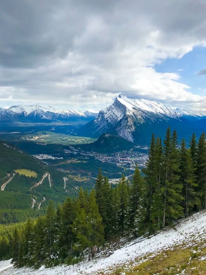 View from Mount Norquay, Banff, Alberta