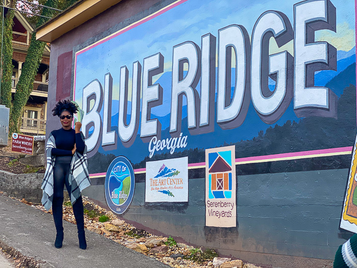 Blue Ridge, GA mural