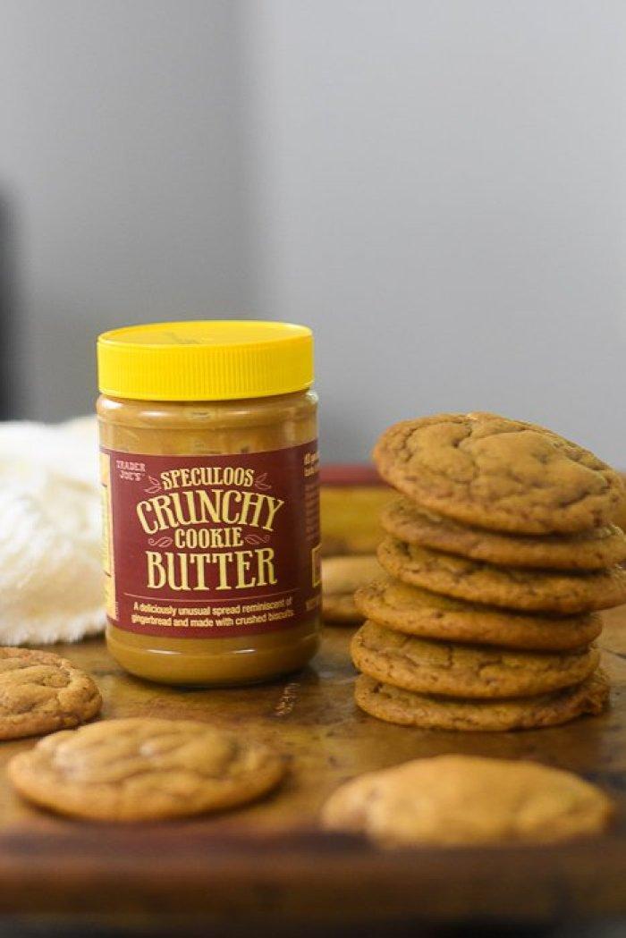 trader joe's speculoos cookie butter cookies