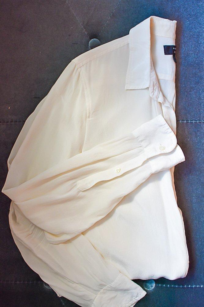 clean white shirt