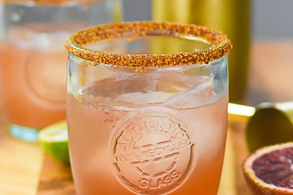 Smoky Blood Orange Mezcal Margarita