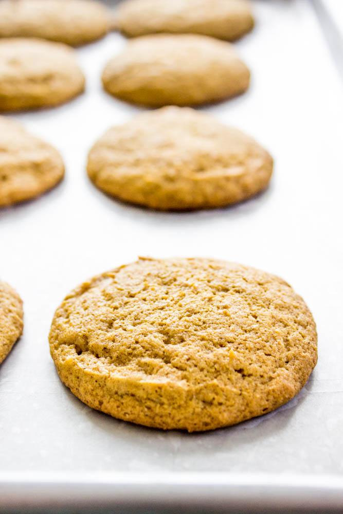 Iced Pumpkin Cookies uniced