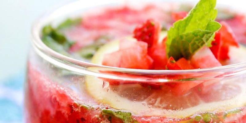 Strawberry-Mint-Spritzer TWITTER