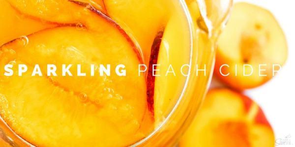 Peach Sparkling Cider Twitter