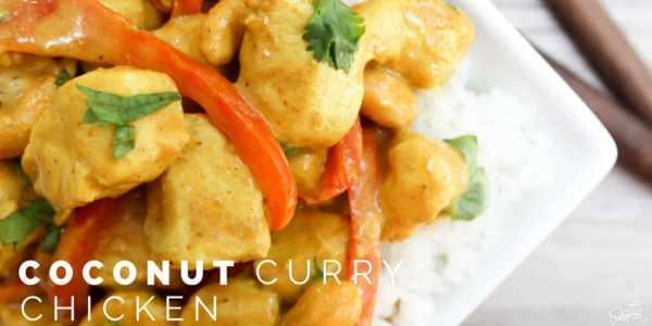 Coconut Chicken Curry Twitter