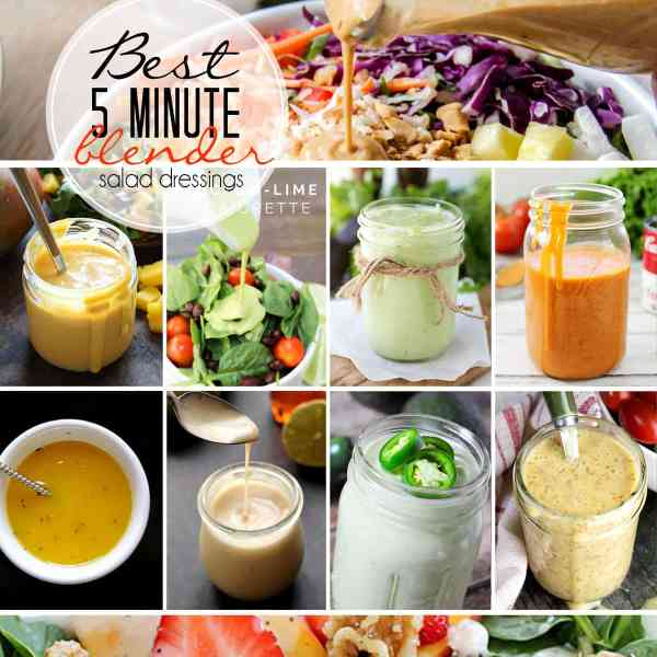 Avocado-Lime Vinaigrette is a bright, fresh, and healthy dressing that can be served with a salad or as a fantastic dip for chips and vegetables.