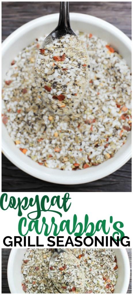 Copycat Carrabba's Grill Seasoning pinterest image