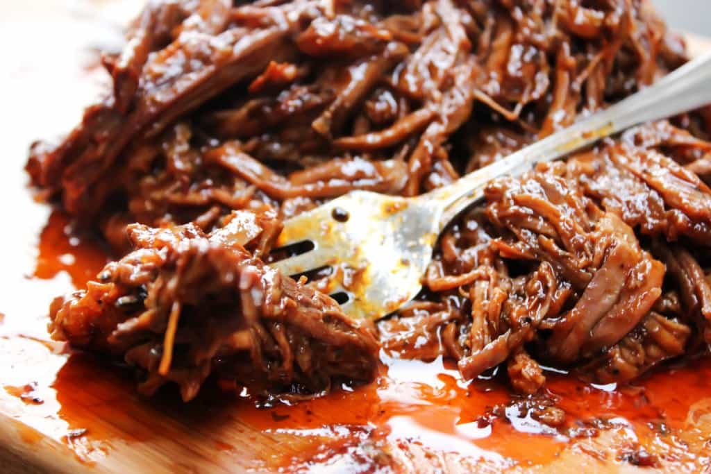 EASY BARBECUE BEEF BRISKET will become one of your holiday favorites. Easy to make and devour.