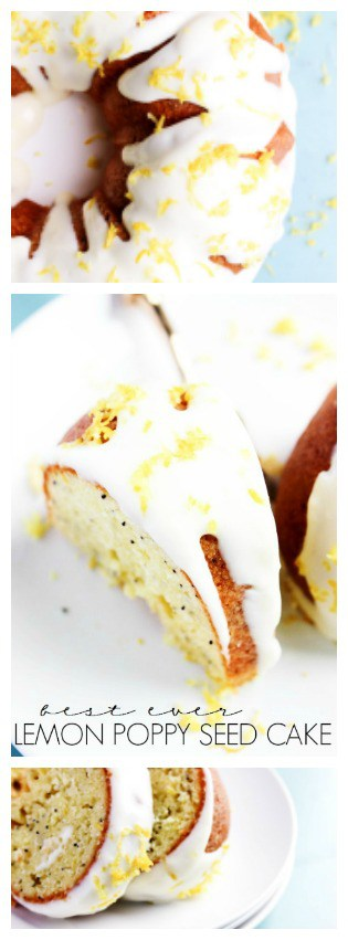 Best Ever Lemon Poppy Seed Cake is a classic sour cream bundt cake with lemon & poppy seeds. Remember friends, the best kind of cake is one that is shared.