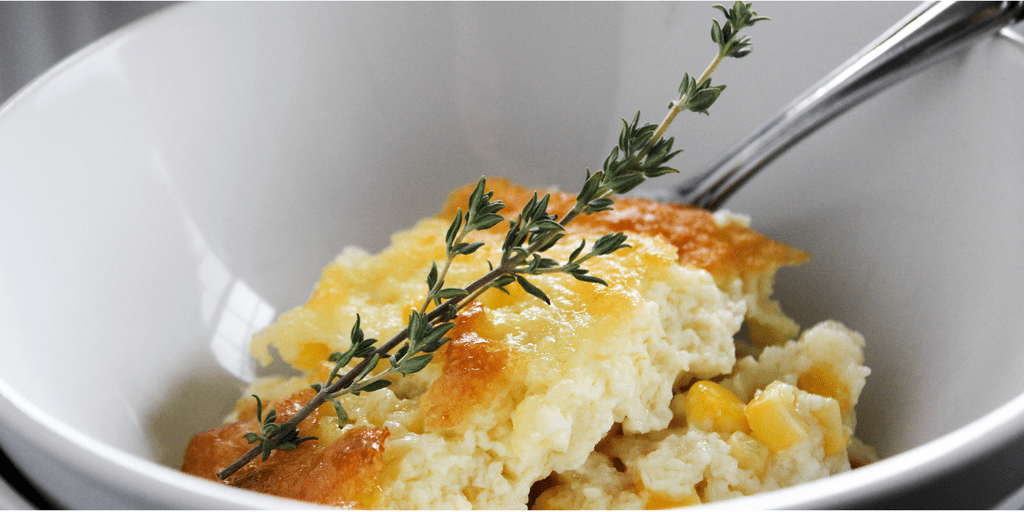 Grandma Jane's Scalloped Corn is my favorite corn dish to make, and my favorite to eat. It's like eating a delicious, sweet corn souffle.