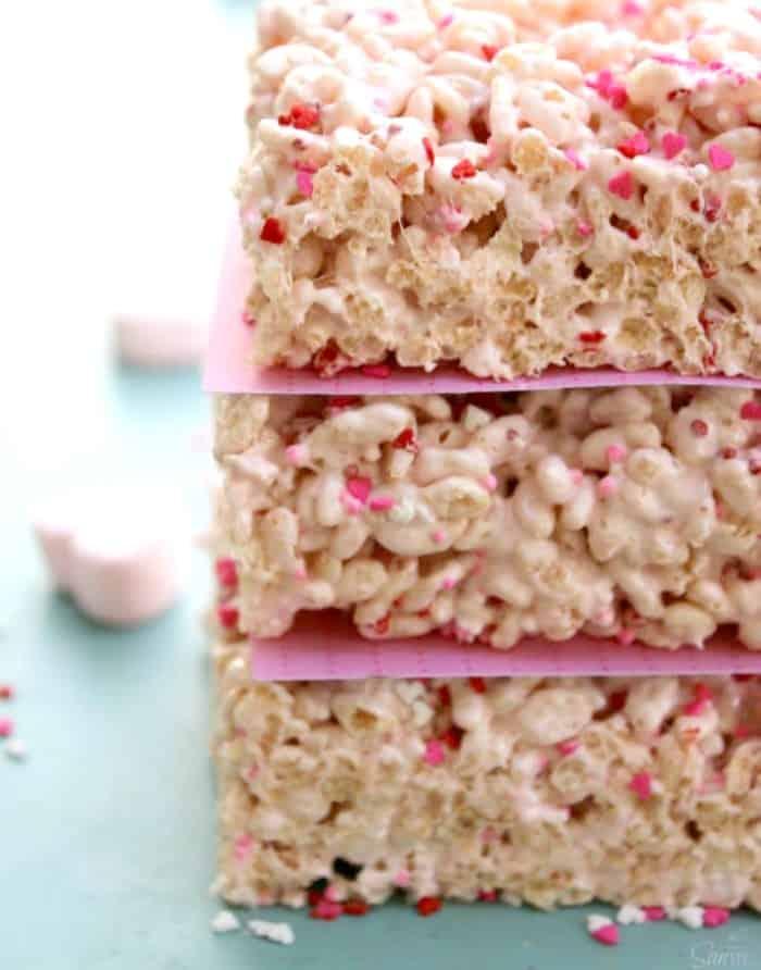 sprinkles, heart, rice krispie treats, cookie cutter, arrow, valentines, candy heart, marshmallows