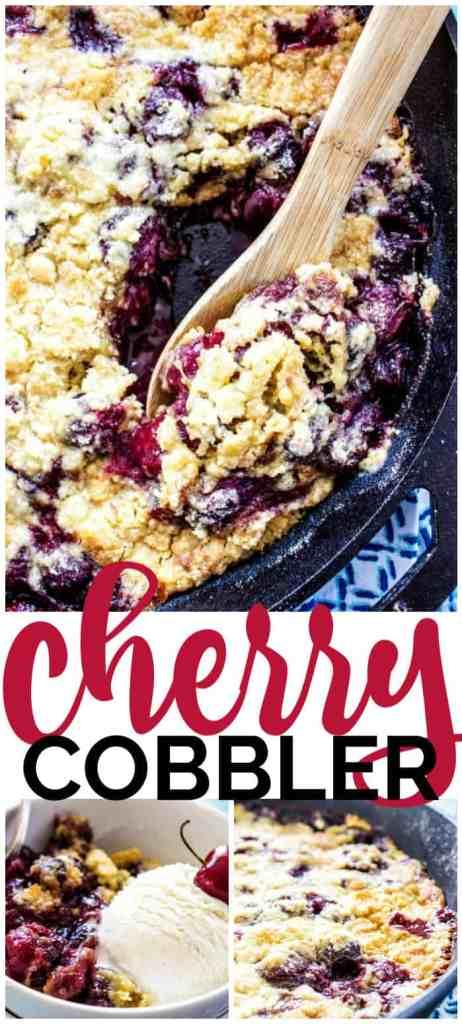 Cherry Cobbler pinterest image