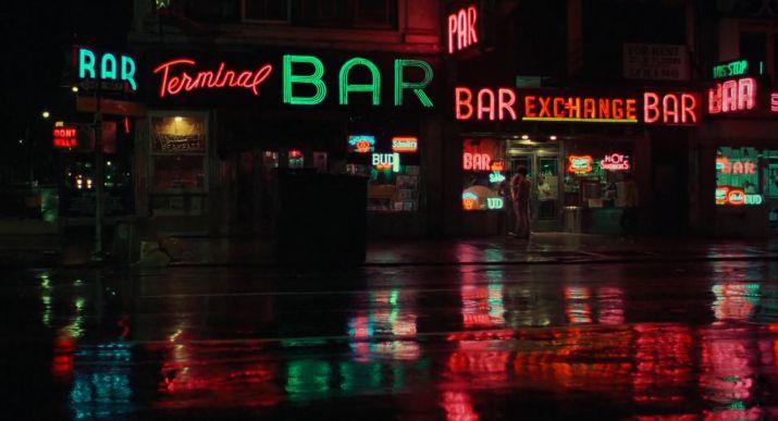 Travis Bickle New York Neon