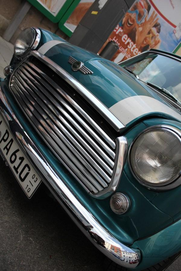 Rover Mini xn - Lijan verchromt!