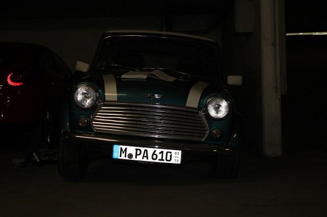 Rover Mini Xn - in Schräglage 2