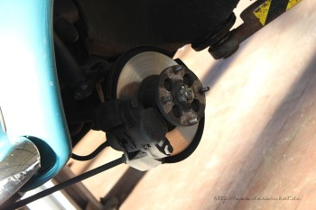 Rover Mini Xn - Bremse vorne