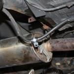 Rover Mini Xn - Batteriekabel fixierung ersetzt2