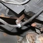 Rover Mini Xn - Batteriekabel fixierung ersetzt1