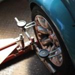 Rover Mini Xn - Spurvermessung 4