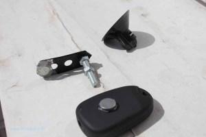 Rover Mini Xn - Kamerahalterung Teile 1
