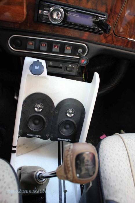 Rover Mini Xn - Mittelkonsolenausbau