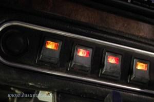 Rover Mini Xn - Dash illumination Kit eingebaut 2