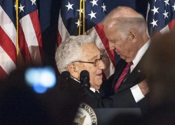 Joe Biden - Henry Kissinger - Database Italia