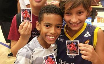 Centenas de fãs participaram da primeira edição da 'Tarde das Figurinhas' / Foto: Divulgação/NBA