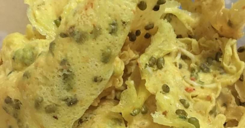 resep peyek kacang hijau super renyah