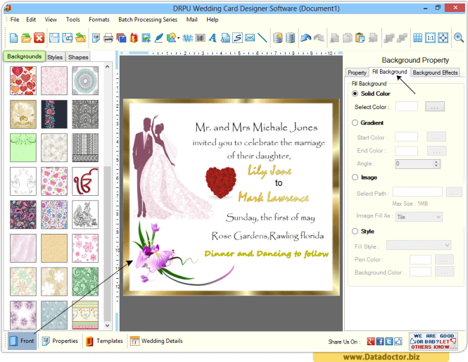 Wedding Card Designing