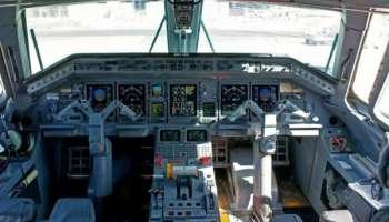 Cockpit d'un embraer